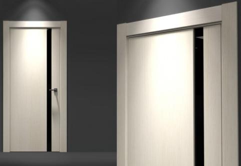 входные двери в квартиру в стиле хайтек