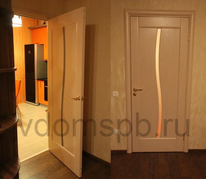 Финские двери межкомнатные белые