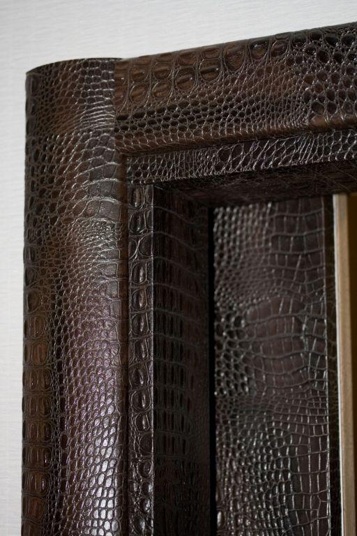 дверь входная металлическая отделка под кожу